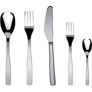 Alessi KnifeForkSpoon Flatware