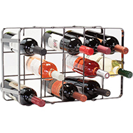 Oenophilia Black Pear Wine Rack